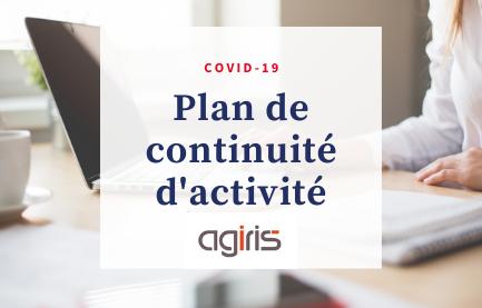 COVID 19 - Plan de Continuité d'activité.